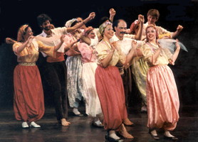 1974-1985 Tomov Ensemble doing a Gypsy dance