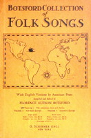 Botsford Collection of Folk Songs by Florence Hudson Botsford
