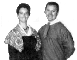 Germain and Louise Hébert