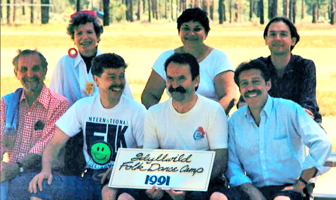 Idyllwild Folk Dance Workshop Staff 1991
