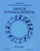 The Journal of the Association of Graduate Dance Ethnologists