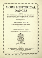 More Historical Dances by Melusine Wood