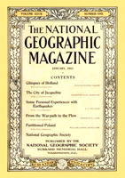 National Geographic January 1915