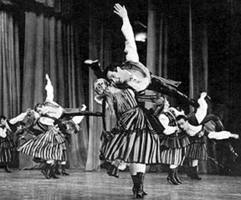 Polish Oberek Dancers