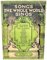 Songs the Whole World Sings by Albert E. Wier