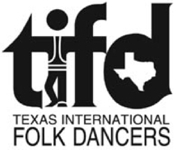 Texas International Folk Dancers logo