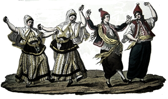 Turkish Folk Dancing 1830